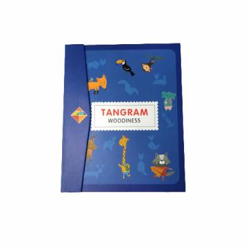 """Логическая магнитная головоломка """"Tangram Woodiness"""""""