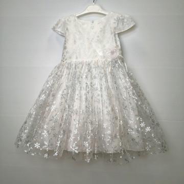 """Платье """"Снежинка"""" белое"""
