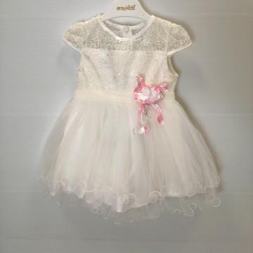 Платье Eray Kids 9064 белое