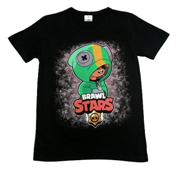"Футболка ""B. STARS 7"" черная"