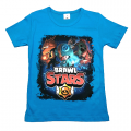 "Футболка ""B. STARS 9"" голубая"