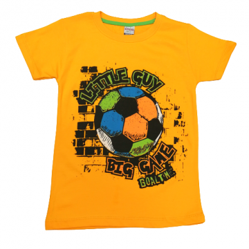 "Футболка ""BIG GAME"" оранжевая"