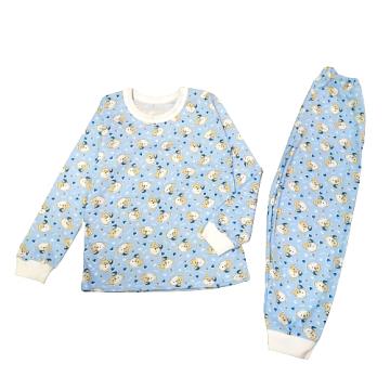 """Пижама """"Мишки У2380"""" голубая"""