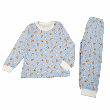 "Пижама ""Собачки У2380"" голубая"