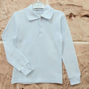 """Рубашка-поло """"Roni"""" белая"""