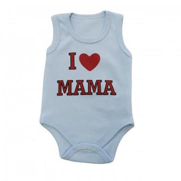 """Боди-майка Bebio baby 4003 """"I Love Mama"""""""