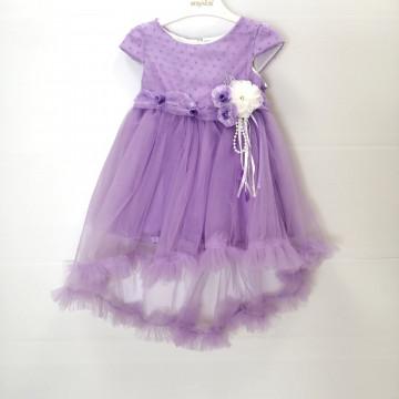 Платье Eray Kids 9074 сиреневое