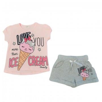 """Костюм """"Ice cream"""" розовый"""
