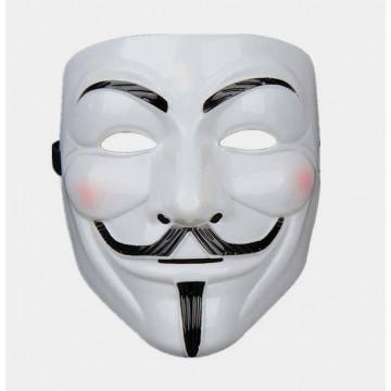 "Маска ""Аноним"" белая"