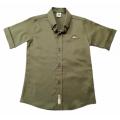 """Рубашка """"TMBS 2946"""" цвет хаки"""