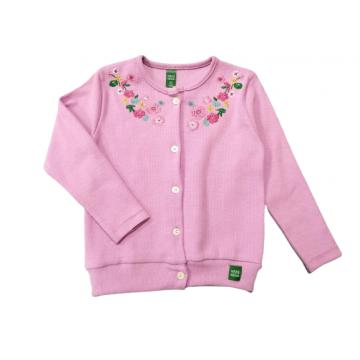 """Кофта """"Цветы 04"""" розовая"""