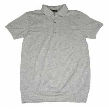"""Рубашка-поло """"Blueland 9203"""" серая"""
