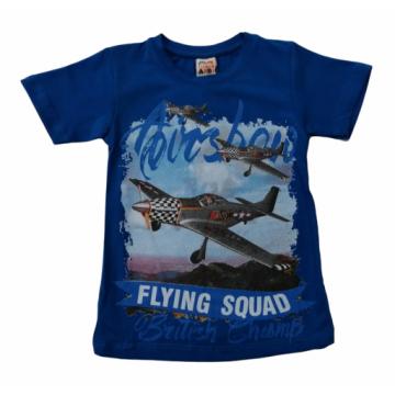 """Футболка """"FLYING SQUAD"""" синяя"""