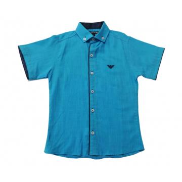 "Рубашка ""ARM 2"" голубая"
