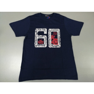 """Футболка """"60"""" тёмно-синяя"""