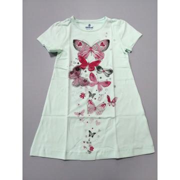 """Ночная рубашка Baykar """"Волшебные бабочки"""" мятная"""